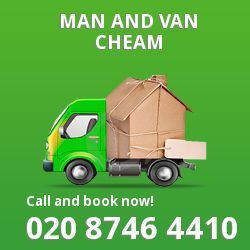 moving vans Cheam