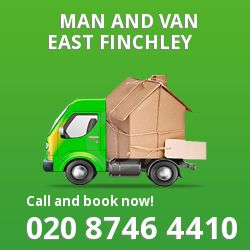 moving vans East Finchley