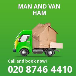 moving vans Ham
