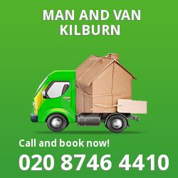 moving vans Kilburn