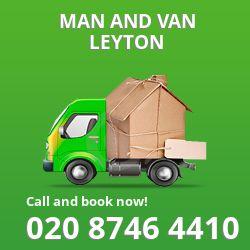 moving vans Leyton