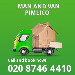 moving vans Pimlico