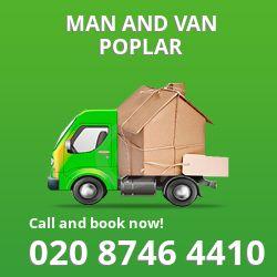 moving vans Poplar