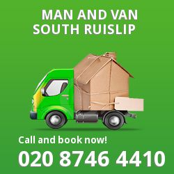 moving vans South Ruislip