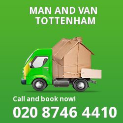 moving vans Tottenham