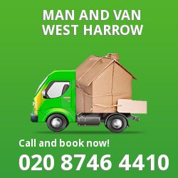 moving vans West Harrow