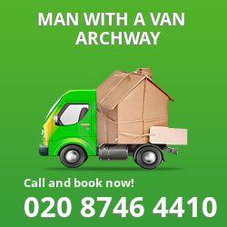 Archway man van N19