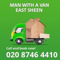 East Sheen man van SW14