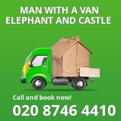 Elephant and Castle man van SE1