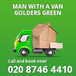 Golders Green man van NW11
