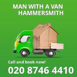 Hammersmith man van W12