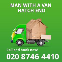 Hatch End man van HA5