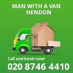 Hendon man van NW4