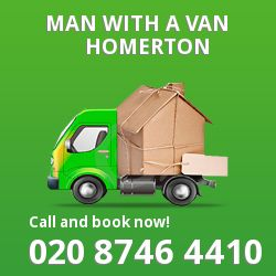 Homerton man van E9