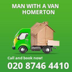 Homerton man van E9