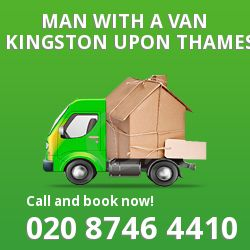Kingston upon Thames man van KT1