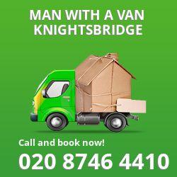 Knightsbridge man van SW7