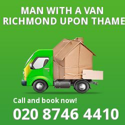 Richmond upon Thames man van TW10