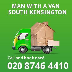South Kensington man van SW7