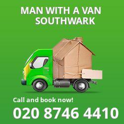 Southwark man van SE1