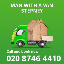 Stepney man van E1
