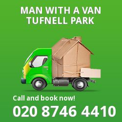 Tufnell Park man van N19