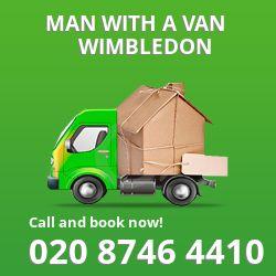 Wimbledon man van SW20
