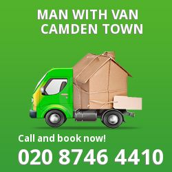 Camden Town men and van NW1