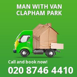 Clapham Park men and van SW4