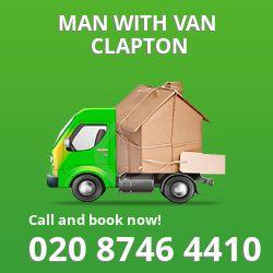 Clapton men and van E5