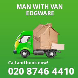 Edgware men and van HA8