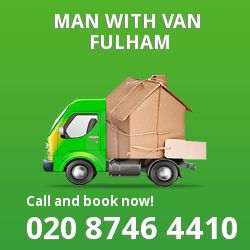 Fulham men and van W6