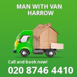 Harrow men and van HA2