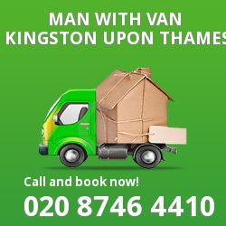 Kingston upon Thames men and van KT2
