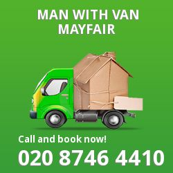 Mayfair men and van W1