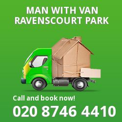 Ravenscourt Park men and van W4