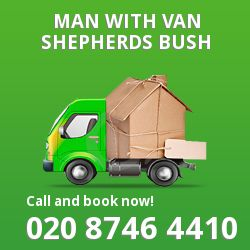 Shepherds Bush men and van W12