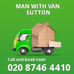 Sutton men and van SM1