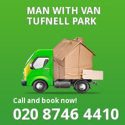 Tufnell Park men and van N7